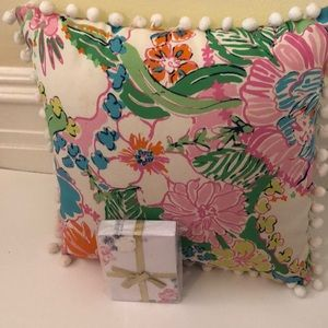 Lilly Pulitzer decorative pillow